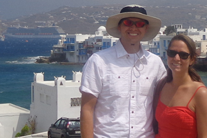 Photo of Zach & Monica Santorini